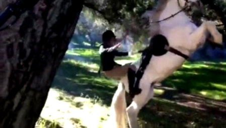 Stunt - Falling From Rearing Horse