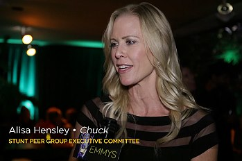 Emmys Stunt Nominee Party Video Interviews